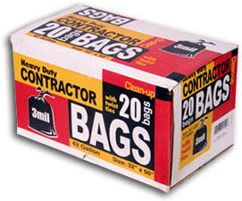 Our Contractor Bags Are Sy Enough To Dispose Off Construction Debris And Puncture Resistant